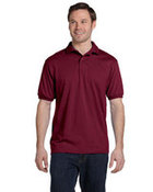 Hanes Adult 5.2 oz., 50/50 EcoSmart® Jersey Knit Polo