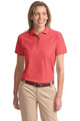 Port Authority Ladies Silk Touch™ Polo