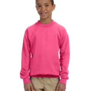 Heavy Blend™ Youth 8 oz., 50/50 Fleece Crew Thumbnail