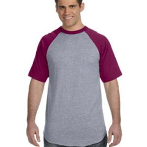 50/50 Short-Sleeve Raglan T-Shirt Thumbnail