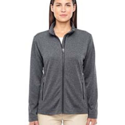 Devon & Jones Ladies' Fairfield Herringbone Full-Zip Jacket Thumbnail