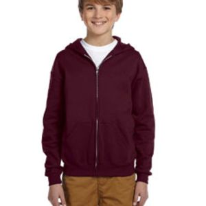 Jerzees Youth 8 oz. NuBlend® Fleece Full-Zip Hood Thumbnail