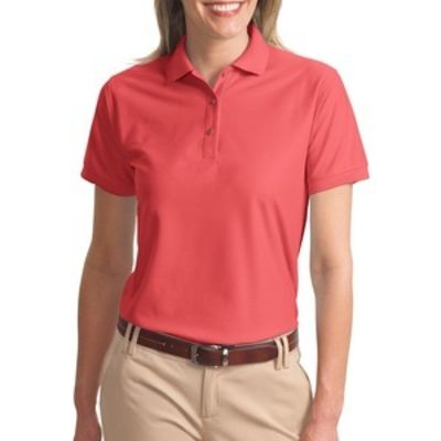 Port Authority Ladies Silk Touch™ Polo Thumbnail