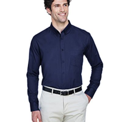 Core 365 Men's Operate Long-Sleeve Twill Shirt Thumbnail