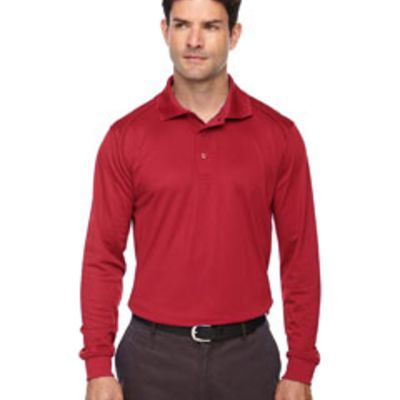 Ash City- Men's Eperformance™ Snag Protection Long-Sleeve Polo Thumbnail