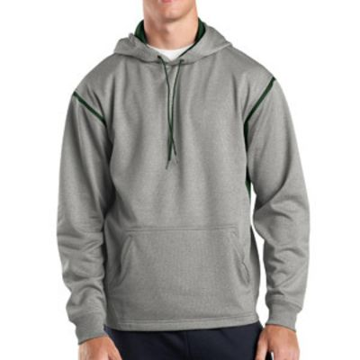 Spor Tek Tech Fleece Colorblock Hooded Sweatshirt Thumbnail