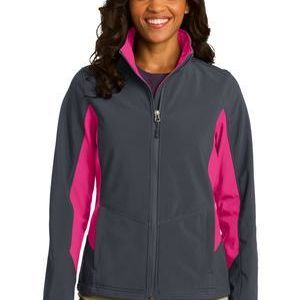 port Authority Ladies Core Colorblock Soft Shell Jacket Thumbnail